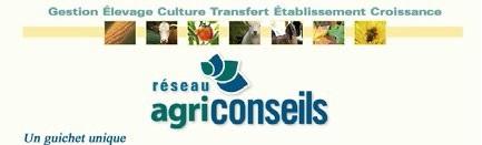 bannière du réseau Agriconseils