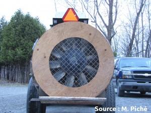 réducteur de débit d'air