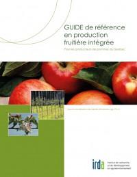 couverture du Guide de référence en production fruitière intégrée pour les producteurs de pommes du Québec